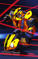 Bumblebee by Ahrrr