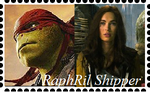 Raphril Stamp by WOLFBLADE111