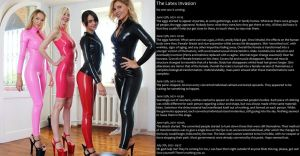 The Latex Invasion (TG Caption) by ourmonkeymasters