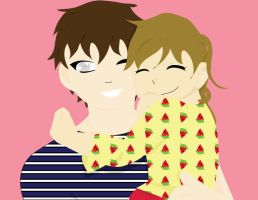 Brother and Sister by IY20082
