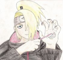 Deidara's Dental Health by DragonArtist13