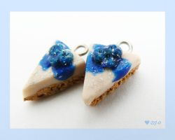 Blueberry Cheesecake Charms by Dj-0