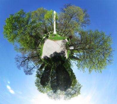 Mini Planet - Cemetery by electricjonny