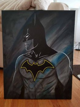 Batman acrylic  by TheJennaBrown