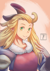 Edea Lee from Bravely Default by Kaloy-sama