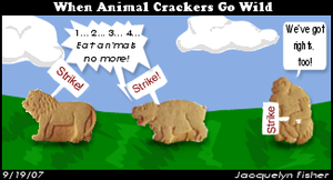 Comic - Animal Crackers by jacquelynvansant