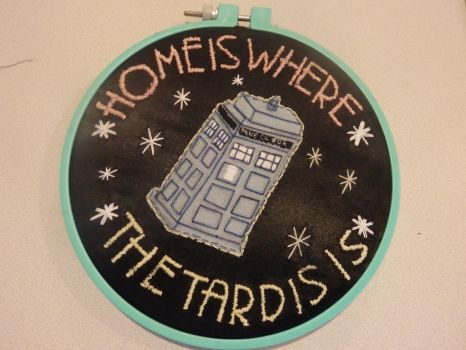 Home Is Where The Tardis Is by Nikai-Nocturne