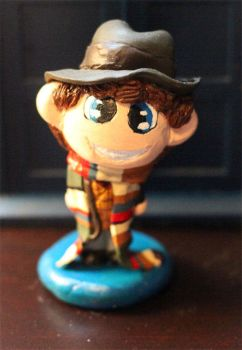Chibi Fourth Doctor Figure by comicalclare