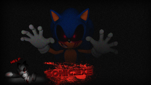 Sonic.EXE Wallpaper by NuryRush