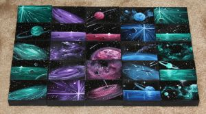 Mini Artomat Spacescapes 1001-1025 by crazycolleeny