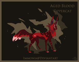 Holiday Zippercat: Aged Blood [CLOSED] by Immonia