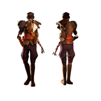 Character Costume - Lost Soldier by musegames