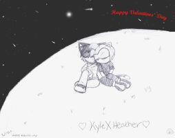 Happy Valentines' Day Kyle by SonicHearts