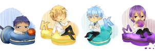KnB: Macarons by chikappi