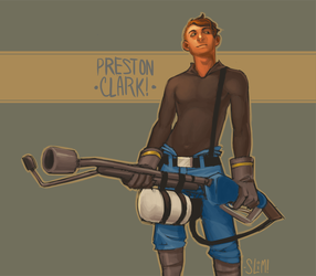 Preston Clark by SlimmerCat
