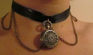 Watch Necklace by Gi-sa95