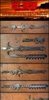 Steampunk Modular Sword - Sky Rogue by AetherAnvil