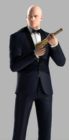 Agent 47 (Tuxedo) by Yare-Yare-Dong
