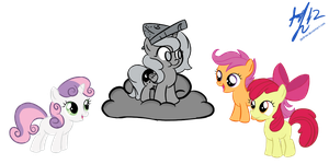 CMC meets Princess Woona by PPDraw