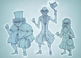 Beware of Hitchhiking Ghosts by Edward-Morte
