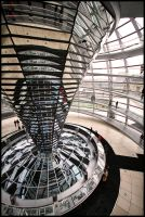 Reichstag Dome by Shoayb