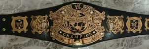 WWE UNDISPUTED CHAMPIONSHIP TITLE BELT by imranbecks