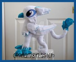 mlp plushie commission GARY THE GRIFFON by CINNAMON-STITCH