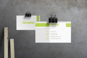 Evo - Corporate Business Card by macrochromatic