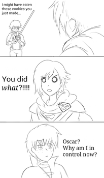 Injustice Ruby vs Oscar by MechaG11