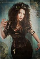 Steampunk Doll by MADmoiselleMeli