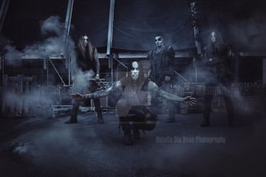 Behemoth - right before their show at Out and Loud by DieHexeFoto