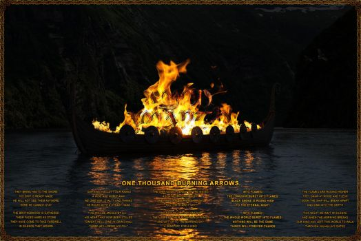 Amon Amarth - One Thousand Burning Arrows by PlaysWithWolves
