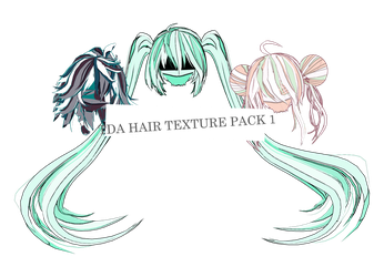 tda hair texture pack 1 {dl} by olivemoone