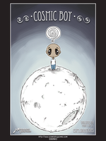 Cosmic Boy - P1V1 - Cover by amartires