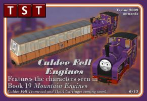 Culdee Fell Railway Pack RELEASED SORT OF by thejonateers