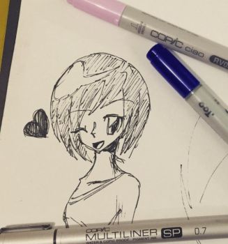 Doodle by Sapphire--Kitty