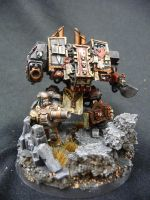 Inquisitorial Dreadnought and the Guards Stand by Solav
