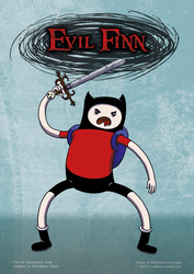 Evil Finn by LordRembo