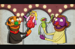 The men behind the Muppets by Sindorman