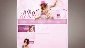 Premade for blog.cz (Nina Dobrev) #3 by dailysmiley