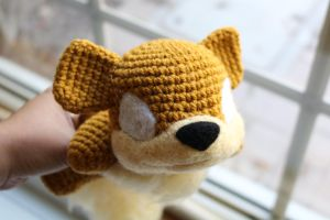 Baby Growlithe WIP by aphid777