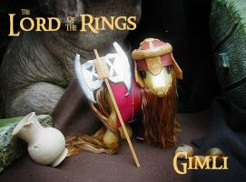 The Lord of the rings Gimli by Barkingmadd