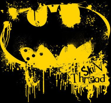 batman by skinthreadclothing