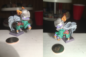 Purple Knight Table-Top Miniature by NPCtendo