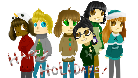 Happy LATE Holidays! by DragonFinchz