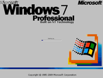 Windows 7 Classic Boot Screen (ANIMATED!) by CustomKirby