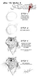 How to draw a Squarriors by WittA