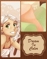 dream in color - artbook preview by meago