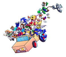 Crossover Car Craze! by Topaz-The-CrossCat73