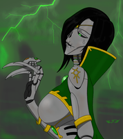 Simutaria, Mistress of the flayed ones by TechmagusKhobotov